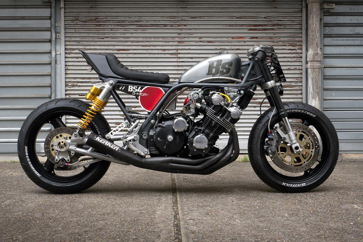 Road Bomber: a brutal custom' Honda CBX1000 by Bad Seeds MC.