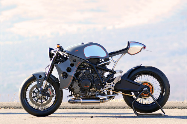 KTM RC8 given the custom treatment by 46Works