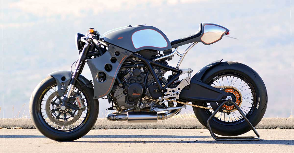Plastic Surgery: A Naked KTM RC8 from 46Works