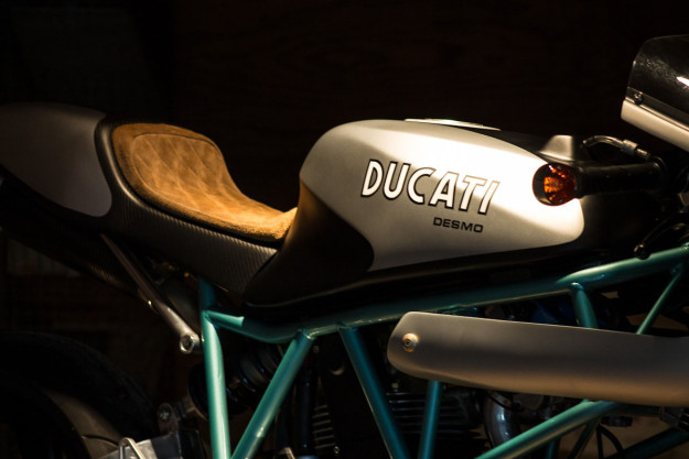 At Last: The Paul Smart colors on a Ducati with SuperSport genes