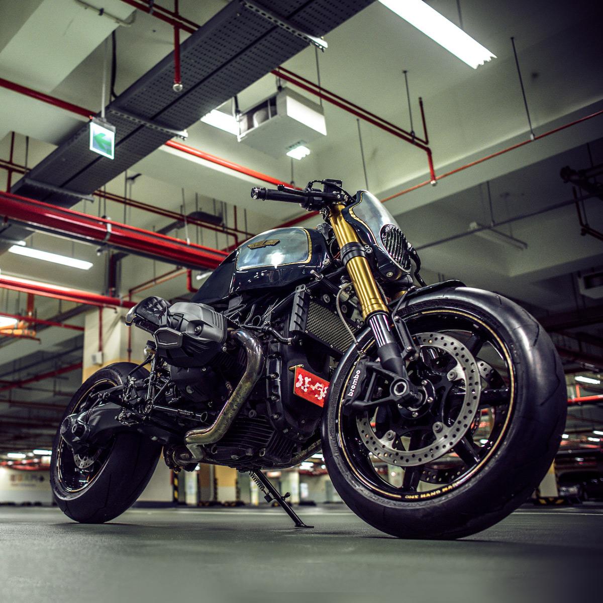 Bmwr: BMW R Nine T Custom By Onehandmade.