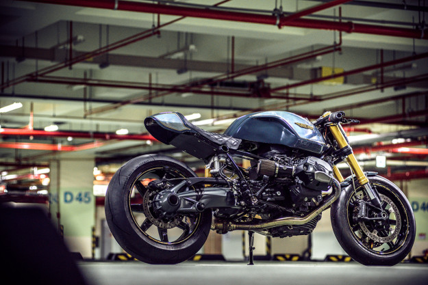 BMW R nine T custom by Onehandmade.