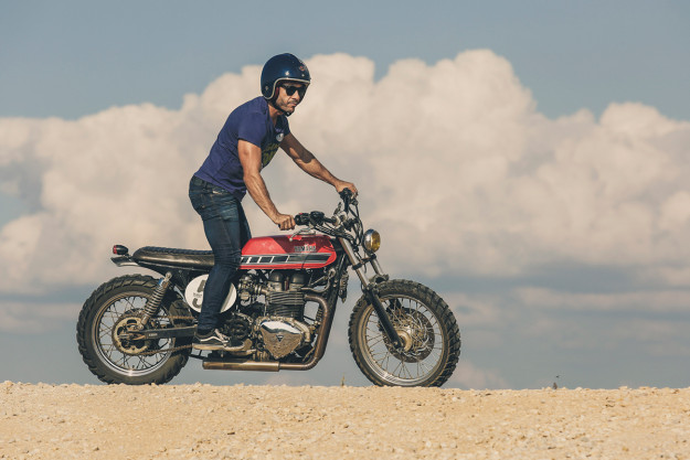 Dirt Is Good: A rough and ready scrambler Triumph