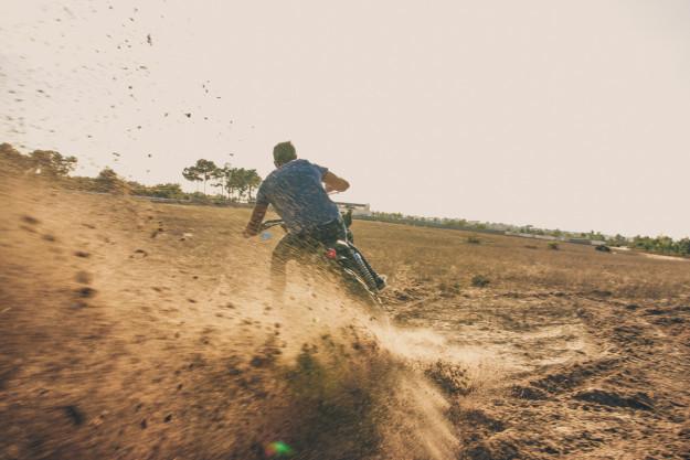 Dirt Is Good: A rough and ready scrambler Triumph