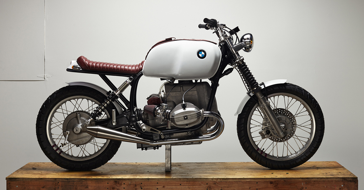 Bell Bullitt designer Chad Hodge builds a BMW