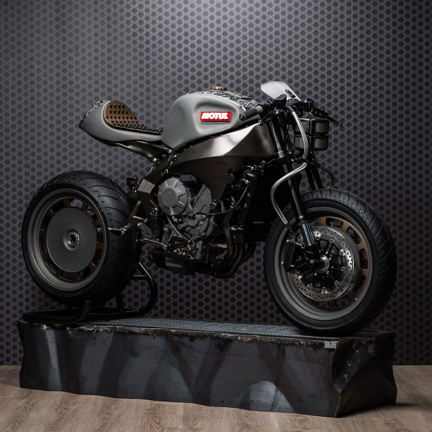 Onirika 2853: A custom MV Agusta Brutale 800 by Officine GPDesign
