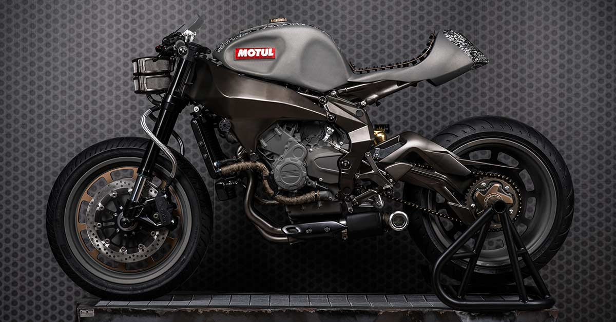 Onirika 2853: A custom Brutale 800 by Officine GPDesign