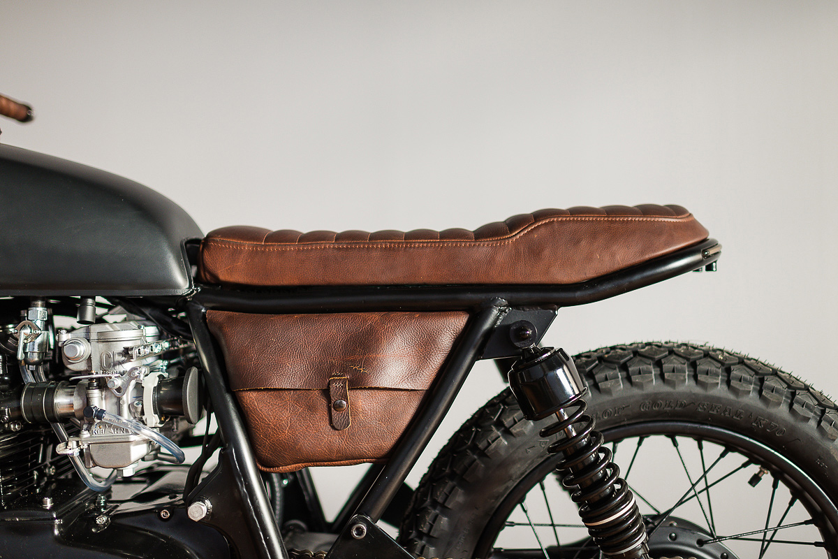 The Dark Art Of Building A CB Cafe Racer