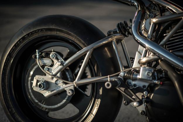 Heavy Breathing: A turbo'd Harley Street from Cherry's Company