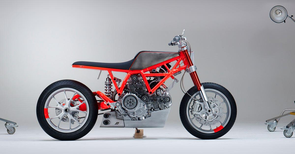 Custom Rumble: Untitled x Marin Ducati Scrambler