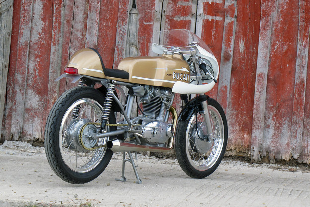 Ride Tastefully: Union Motorcycle's Ducati Monza 250.