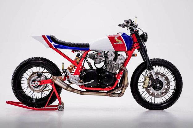 Honda CB750 by Herencia Custom Garage