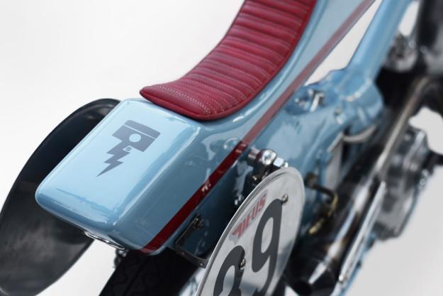 Firefly: a fire-breathing Honda Super Cub racer from Deus Japan