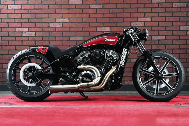 Custom Indian Scout by V-Twin Garage