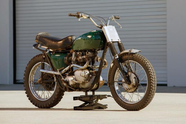 The Steve McQueen Von Dutch Triumph Bonneville