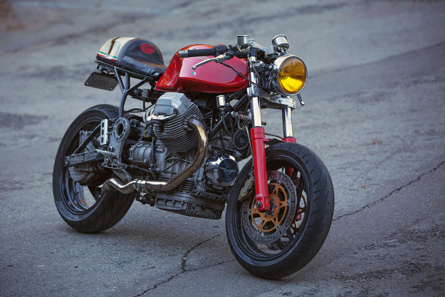 Moto Guzzi 1100 Sport by Eduardo Nauiack