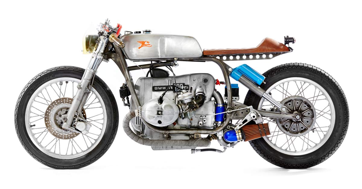 I Ll Be Blown This Bmw R100 Is Packing A Porsche Turbo