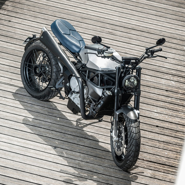 Viba Lara 800: a scrambler with MV Augusta power.