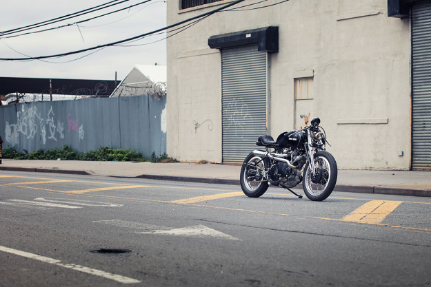 Widow Jane: A custom Vincent Rapide from Keino Cycles