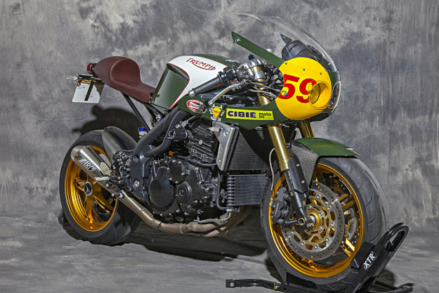 Custom Triumph Speed Triple by XTR Pepo.