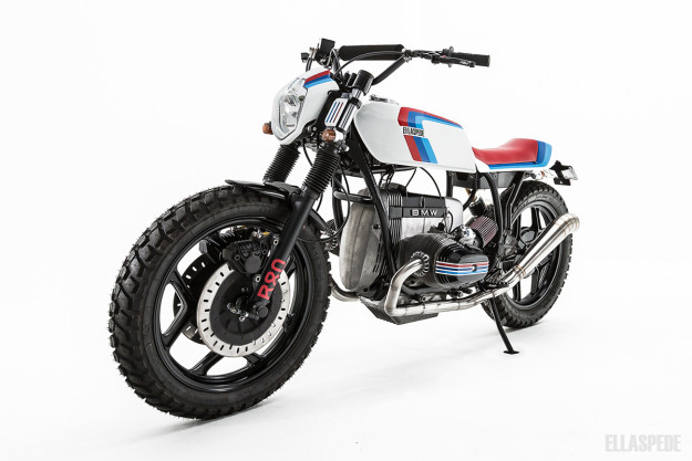 Custom BMW R80 by Ellaspede