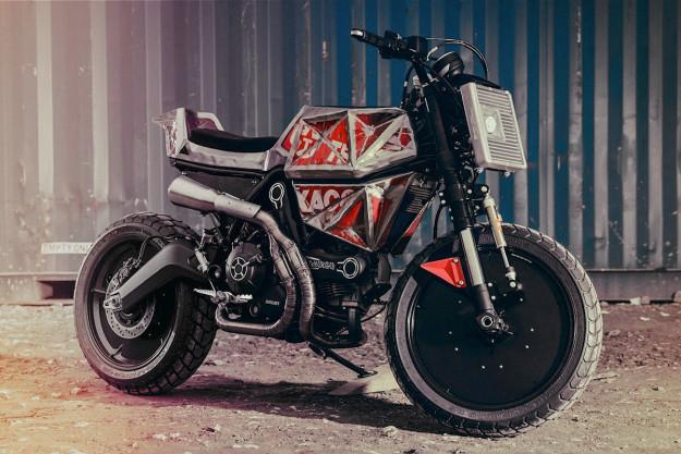 Ducati Scrambler by Vibrazioni Art Design