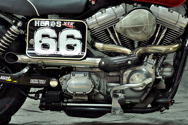 Harley Davidson Dyna On Bike Exif: Remaking The Harley Dyna, Street Tracker Style