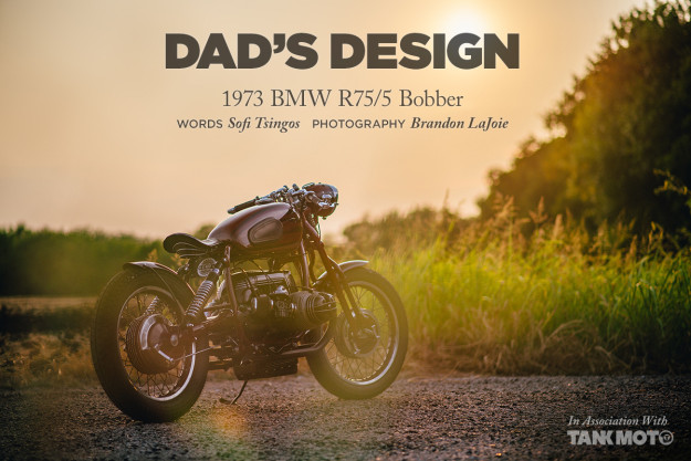 GT-Moto's 1973 R75/5 BMW bobber is a great bike with an even better story behind it.