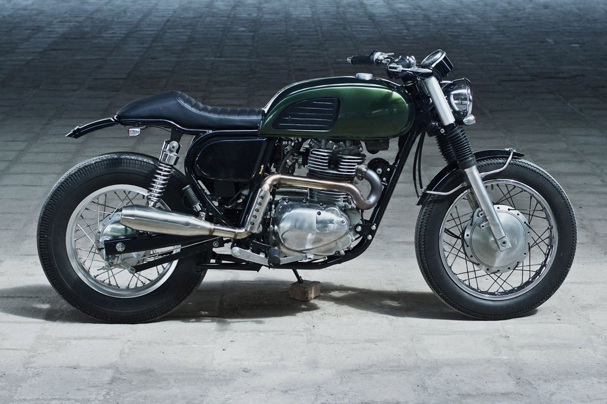 Kawasaki Estrella  Custom