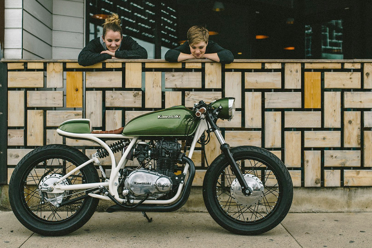 Custom Bikes Of The Week 28 February 2016 Bike Exif Kz440 Wiring Harness Kawasaki By Gt Moto There Is A Lot To Love About Class Builds Coming Out Created Sofi Tsingos Are Stunning Behold