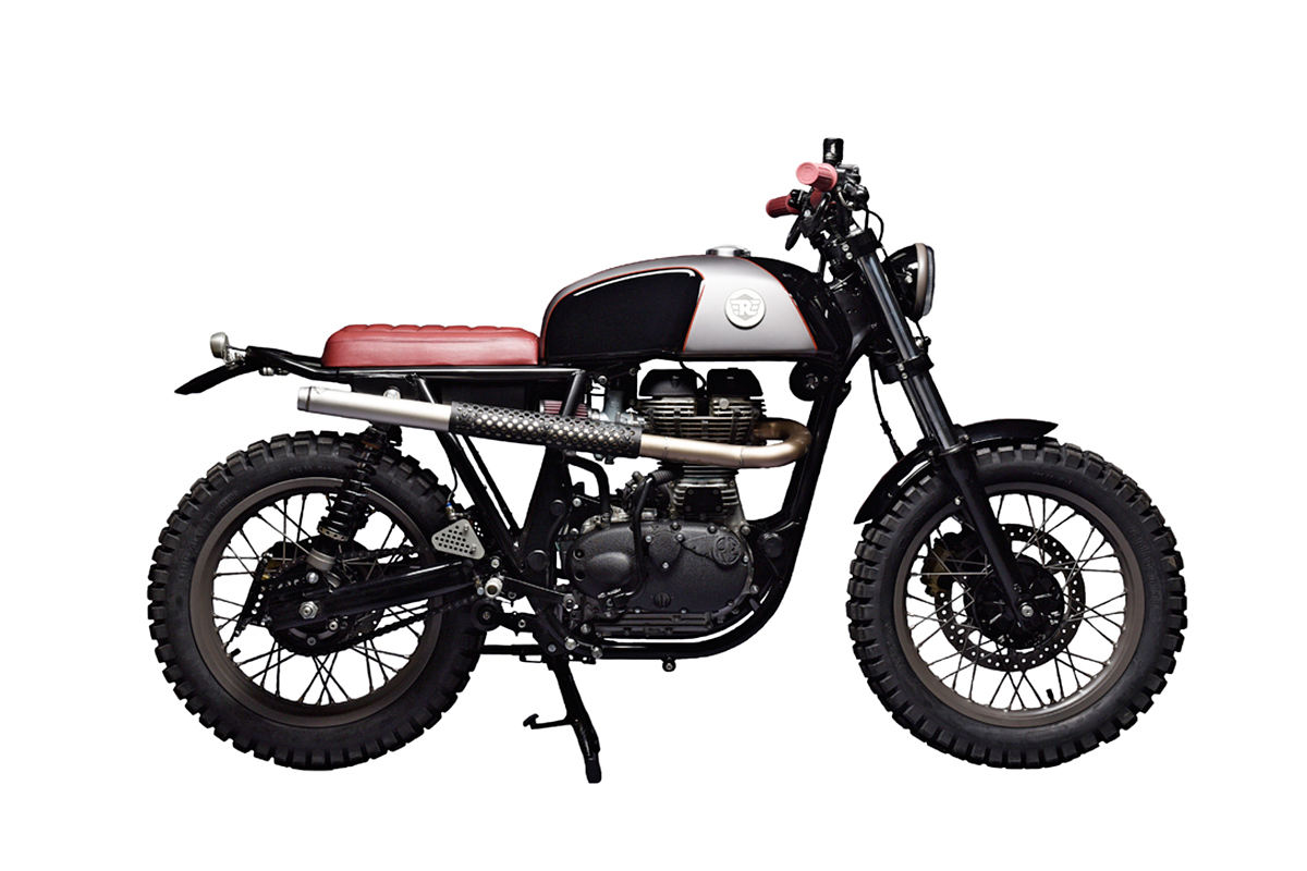 everything is better with knobbies on pinterest triumph scrambler street tracker and honda. Black Bedroom Furniture Sets. Home Design Ideas
