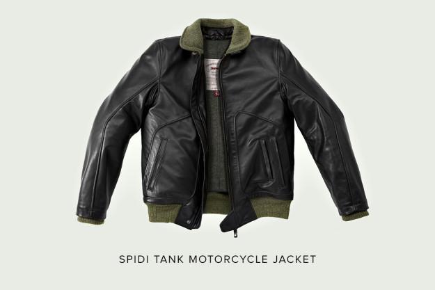 SPIDI Tank motorcycle jacket.