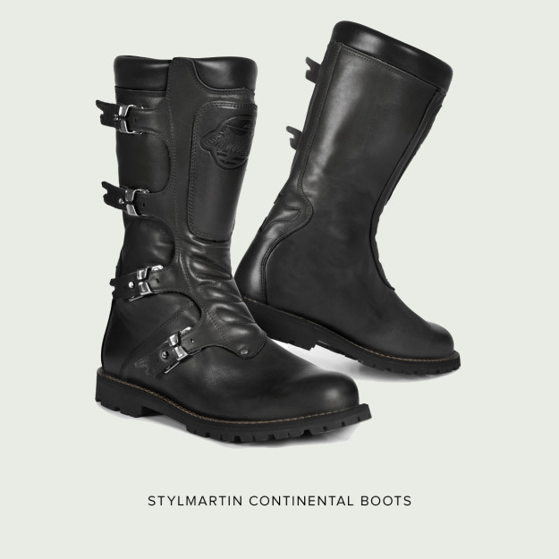 New from Stylmartin: the Continental boots.