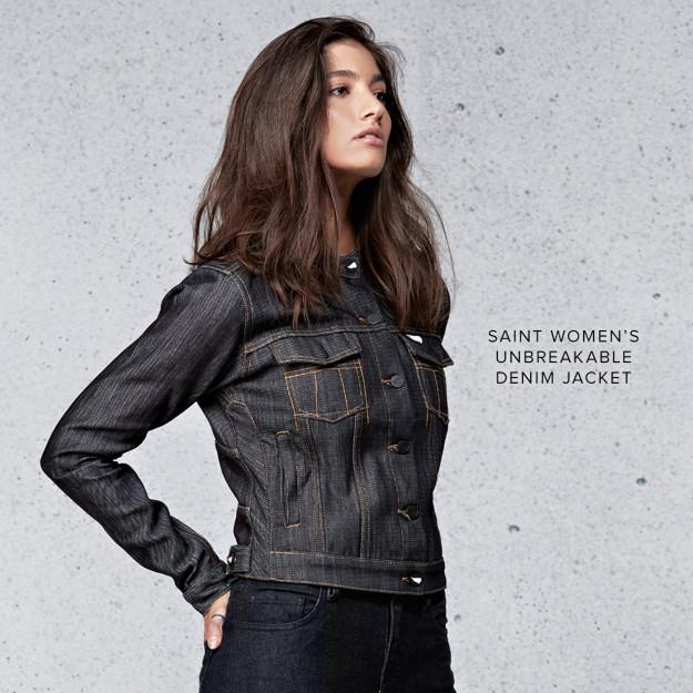 Saint Women's Unbreakable Denim Jacket