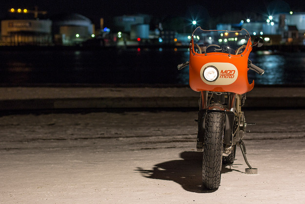 Peel Out: MOD Moto's Very Orange Ducati 750SS