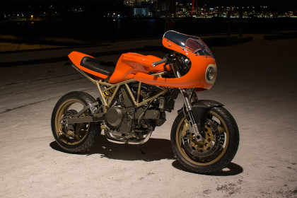 Orange Crush: Mod Moto's Ducati 750SS