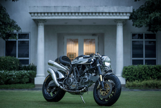 Custom Ducati 900 SS by BCR.