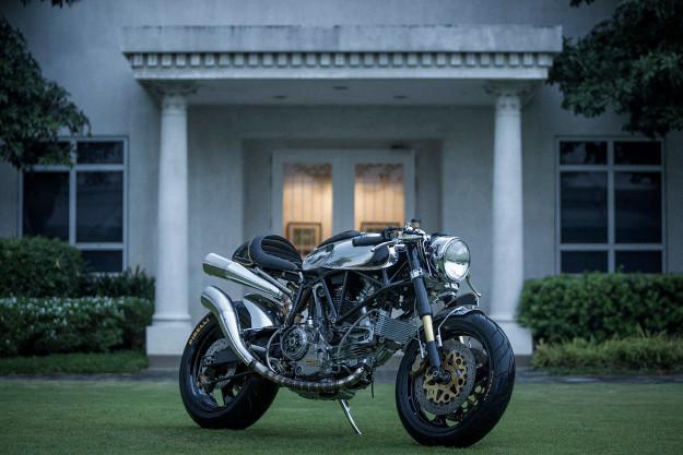 Custom Ducati 900 SS by BCR.