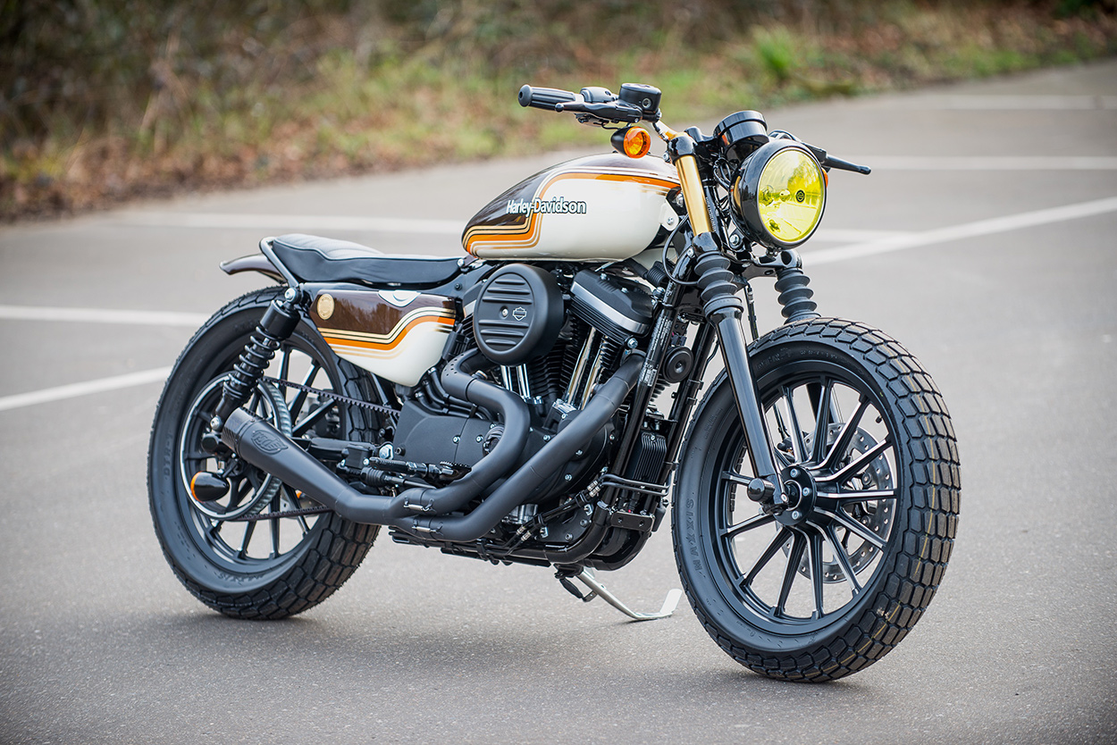 Harley Davidson Iron  Cafe Racer Kit