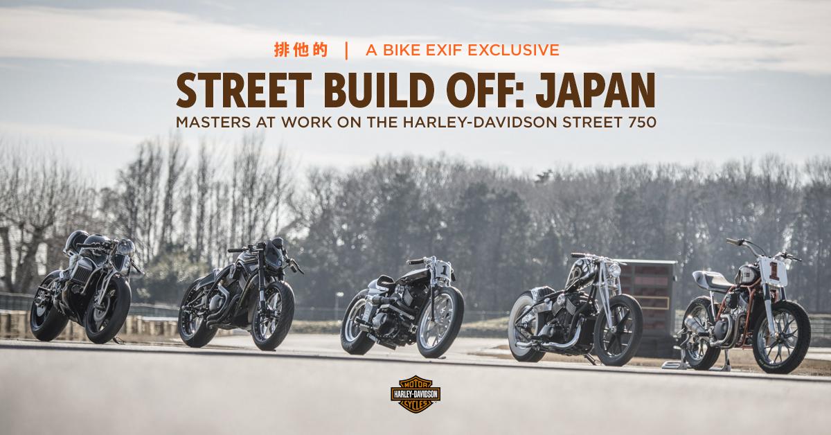 Masters At Work: Harley-Davidson Street Build Off, Japan