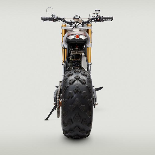 John Ryland's wild Honda XR650L is a big, fat middle finger to critics of the modern-day custom scene.