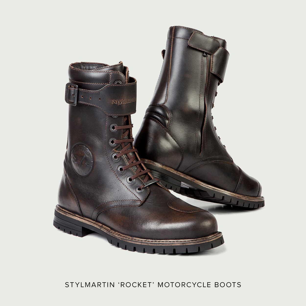 Stylmartin Rocket Motorcycle Boots Perfect For Cafe