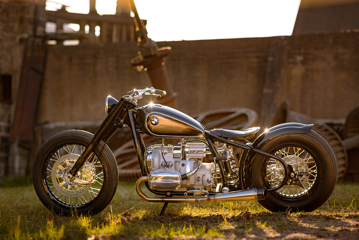 vintage meets custom: bmw remakes the iconic r5 | bike exif