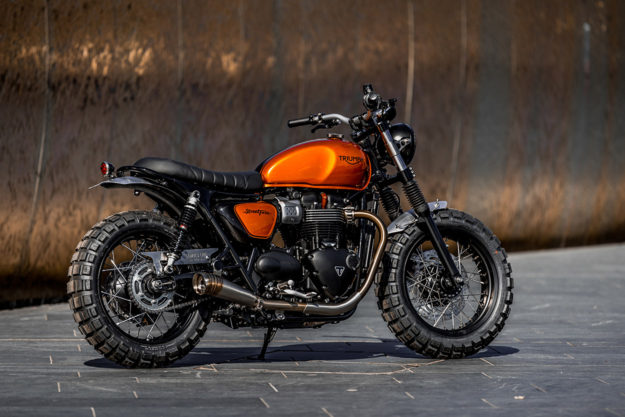Triumph Street Twin by Down & Out Café Racers