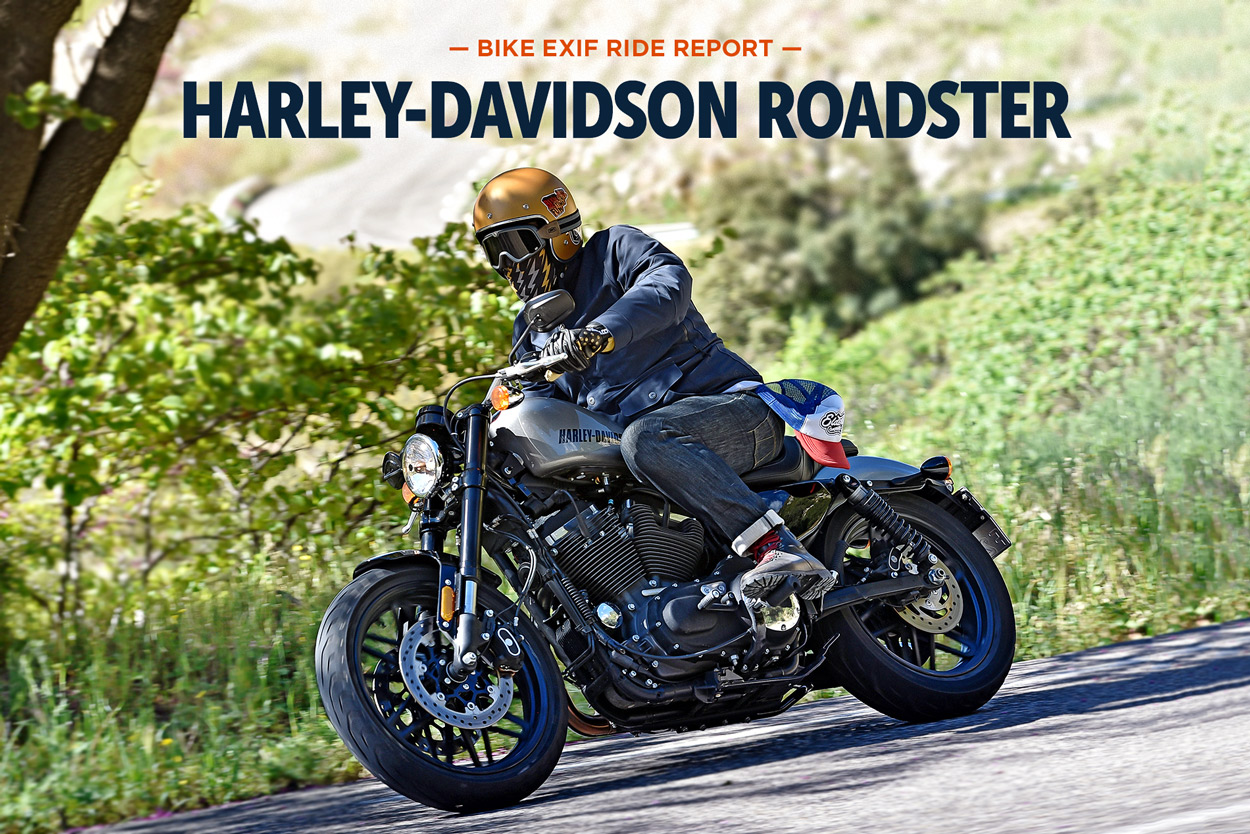 Harley Davidson Dyna On Bike Exif: Review: The New Harley-Davidson Roadster