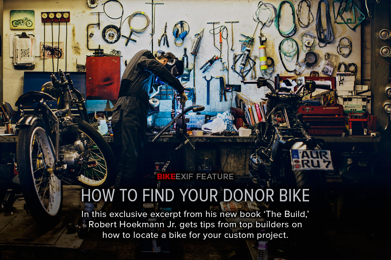 Looking for a donor? Here's how to buy a motorcycle for your custom project.