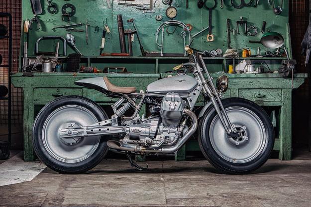 Moto Guzzi V9 by OMT Garage
