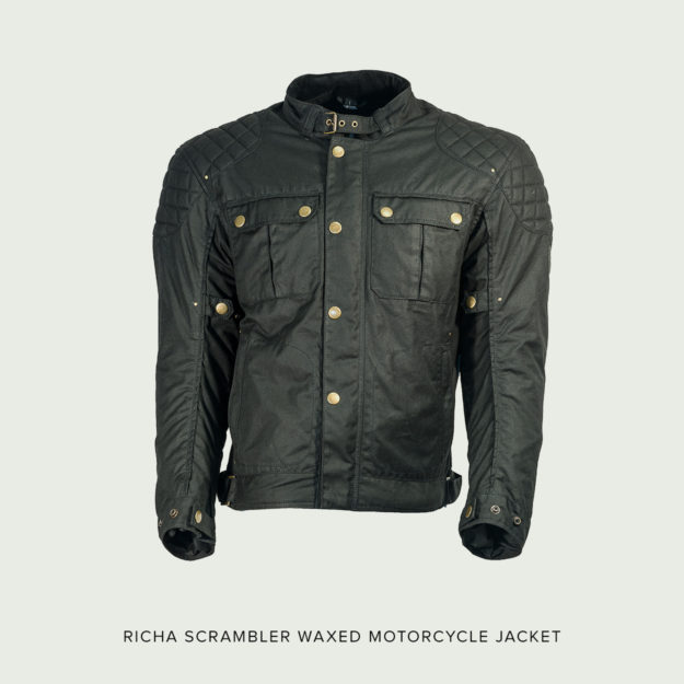 Richa Scrambler motorcycle jacket.