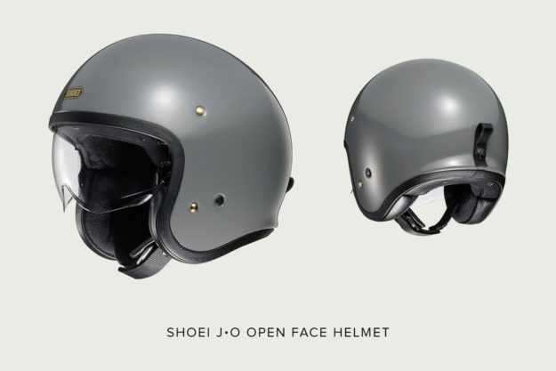 Shoei's new 'JO' open face motorcycle helmet
