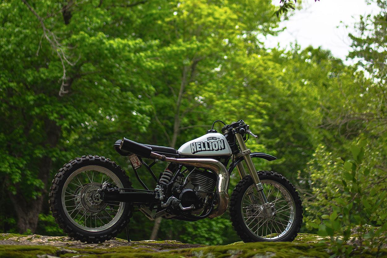 Hellion An Off The Wall Yamaha Wr500 Bike Exif